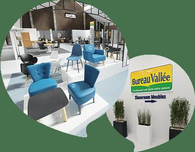 Showroom mobilier en 3D